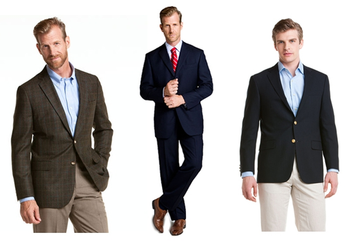 Differences Between the 3 Classic Menswear Pieces
