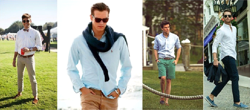 Stylish Shirts for Men Attending an Outdoor Event in Summer